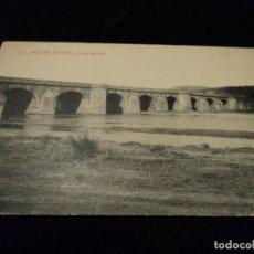 Postales: POSTAL MOLINS DE REI PONT DEL RIU, ED THOMAS. Lote 116137291