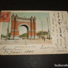 Postales: BARCELONA ARCO DE TRIUNFO. Lote 116190827