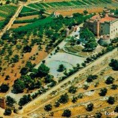 Postales: CASTELLDEFELS, VISTA AEREA DEL CASTILLO, VALICAR 1135. Lote 116462011