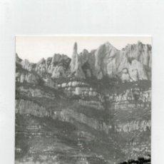 Postales: ARCHIVO CUYAS - MONTSERRAT - RIO LLOBREGAT Y EL CREMALLERA. Lote 116539575