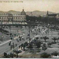 Postales: BARCELONA- PLAZA DE CATALUÑA.-FOTOGRÁFICA- LB- BARTRINA- Nº 5 -1908 RARA. Lote 116671407