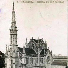 Postales: BARCELONA-IGLESIA DE LAS SALESAS-FOTOGRÁFICA- LB- BARTRINA Nº 11- 1907-. Lote 116671923
