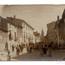 Postales: POSTAL FOTOGRÁFICA POSIBLEMENTE IGLESIA DE TORREDEMBARRA (TARRAGONA). Lote 116754139
