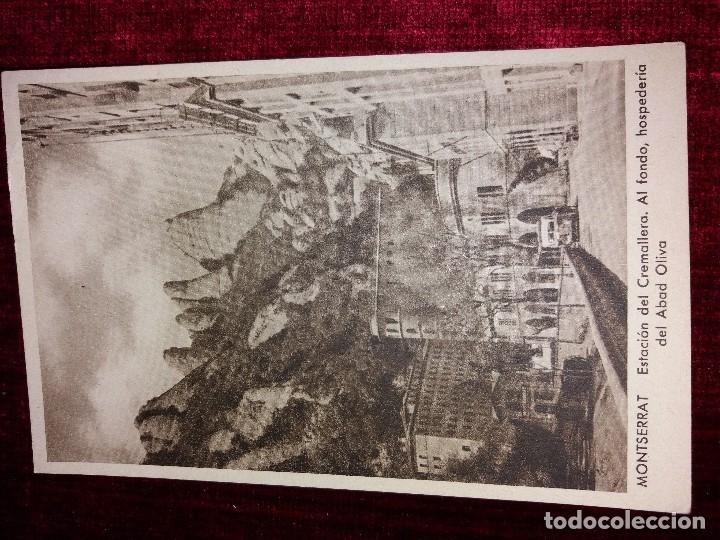 Postales: LOTE 9 POSTALES MONSERRAT. HUECOGRABADO RIEUSSET. IMPECABLES - Foto 4 - 116845347
