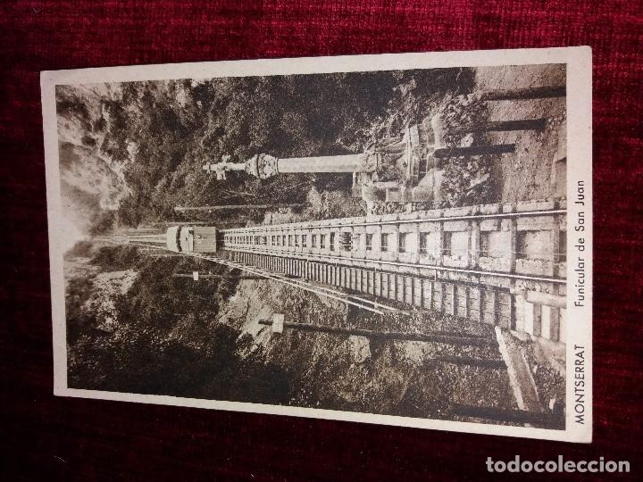 Postales: LOTE 9 POSTALES MONSERRAT. HUECOGRABADO RIEUSSET. IMPECABLES - Foto 5 - 116845347
