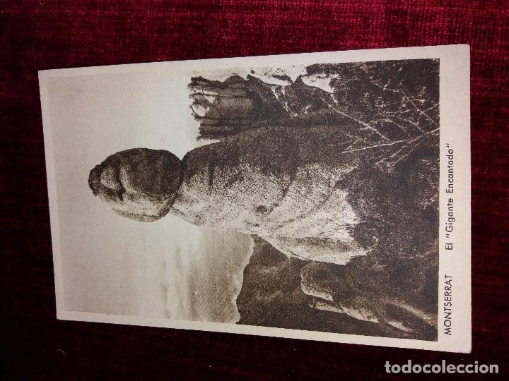 Postales: LOTE 9 POSTALES MONSERRAT. HUECOGRABADO RIEUSSET. IMPECABLES - Foto 6 - 116845347