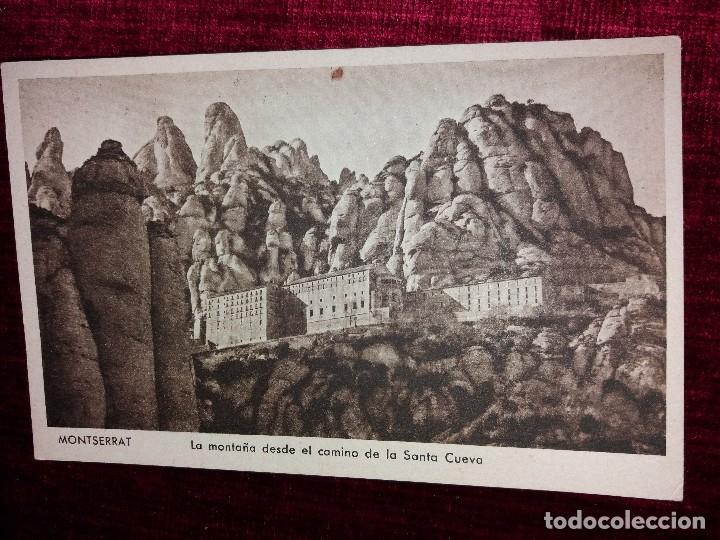 Postales: LOTE 9 POSTALES MONSERRAT. HUECOGRABADO RIEUSSET. IMPECABLES - Foto 7 - 116845347