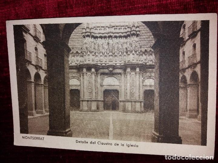 Postales: LOTE 9 POSTALES MONSERRAT. HUECOGRABADO RIEUSSET. IMPECABLES - Foto 10 - 116845347
