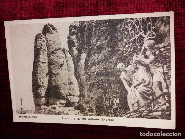 Postales: LOTE 9 POSTALES MONSERRAT. HUECOGRABADO RIEUSSET. IMPECABLES - Foto 11 - 116845347