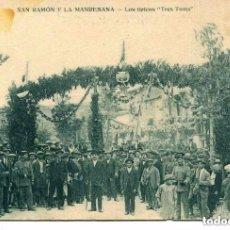 Postales: LÉRIDA-SAN RAMÓN Y LA MANRESANA-LOS TÍPICOS -TRES TOMS- MUNBRÚ-MUY RARA. Lote 117013283