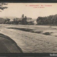 Postales: HOSTALRICH - 14 - RIU Y ARRABALET - ROISIN - VER FOTOS -(52.526). Lote 117237347