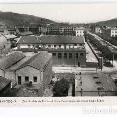 Postales: BARCELONA SAN ANDRES DEL PALOMAR VISTA PANORAMICA DEL PASEO PUIG I FABRA.J.V.B. POSTAL FOTOGRÁFICA. Lote 117394871