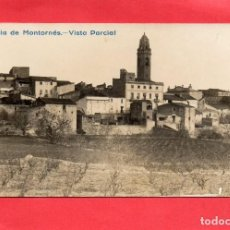Postales: POBLA DE MONTORNÉS. VISTA PARCIAL. FOTOGRÁFICA. Lote 117498507