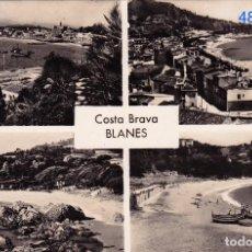 Postales: BLANES. COSTA BRAVA – CUATRO VISTAS - FOTOGRÁFICA. Lote 117543791