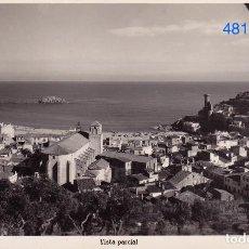 Postales: TOSSA. COSTA BRAVA. VISTA PARCIAL – CLIXÉS M. FABREGAS. FOTOGRÁFICA. Lote 117544039
