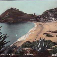 Postales: TOSSA – COSTA BRAVA – M.R. 21 –LA PUNTA – A. ZERKOWITZ, FOTÓGRAFO.. Lote 117545243