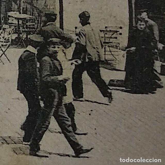 Postales: 1909 Paseo colon Barcelona Postal circulada enviada a Pamplona - Foto 7 - 118031723