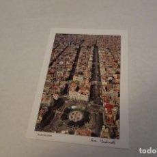 Postales: BARCELONA .PLAZA CATALUÑA. PASEO DE GRACIA RAMBLA DE CATALUÑA. Lote 118033375