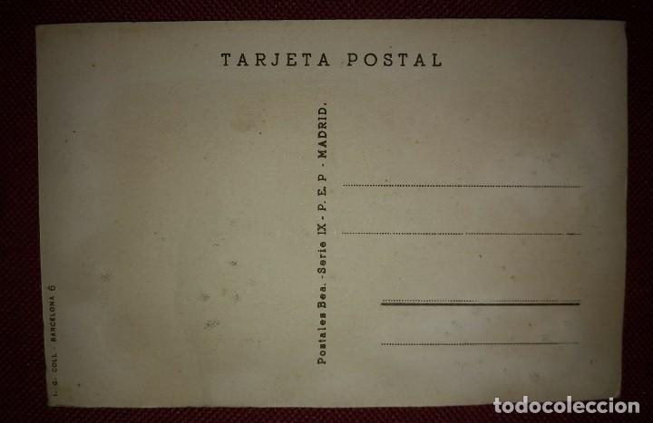 Postales: BARCELONA Postal bordada con hilo traje típico BARCELONA CATALUNYA CATALUÑA - Foto 4 - 118034187