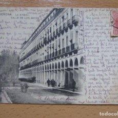 Cartes Postales: LA BISBAL. CALLE DE LOS ARCOS. GERONA.. Lote 118075123