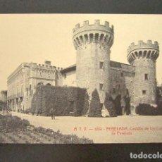 Postales: POSTAL GERONA. GIRONA. PERELADA. CASTILLO DE LOS CONDES DE PERELADA. . Lote 118536319