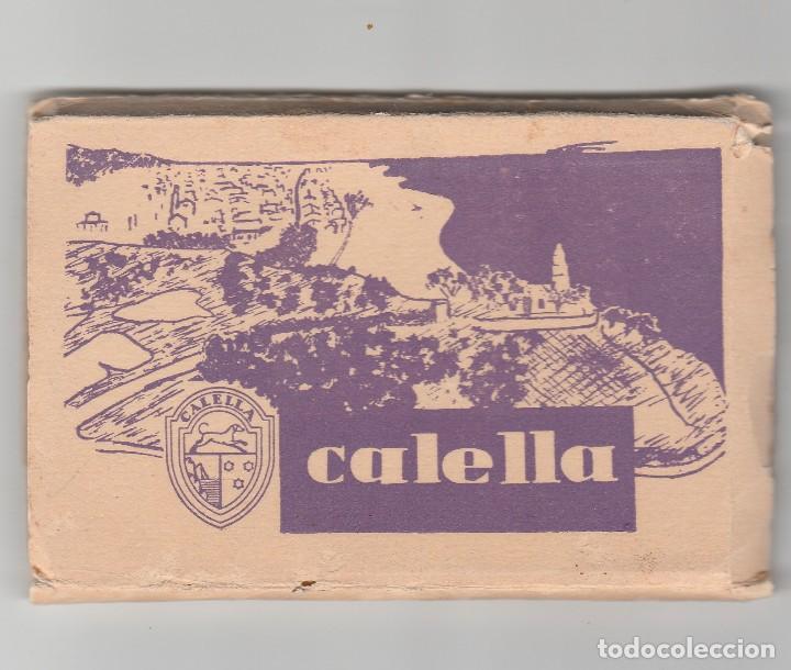 LIBRO CON 12 POSTALES DE CALELLA-BARCELONA (Postales - España - Cataluña Moderna (desde 1940))