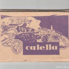 Postales: LIBRO CON 12 POSTALES DE CALELLA-BARCELONA. Lote 118998035