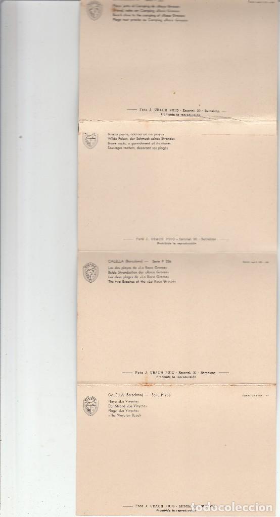 Postales: LIBRO CON 12 POSTALES DE CALELLA-BARCELONA - Foto 5 - 118998035