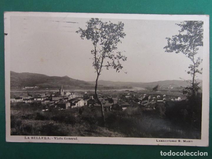 LA SELLERA. DE TER. GERONA. VISTA GENERAL. (S. MARTI). (Postales - España - Cataluña Antigua (hasta 1939))