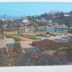 Postales: POSTAL DE BARCELONA : MONTJUIC , JARDINES DE MOSSEN CINTO .... AÑOS 60. Lote 119053335