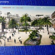 Postales: ANTIGUA POSTAL DE BARCELONA. PLAZA REAL. J. VENINI.ESPERANTO. . Lote 119099351