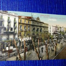 Postales: ANTIGUA POSTAL DE BARCELONA. RAMBLA Y GRAN TEATRO DEL LICEO. J. VENINI.ESPERANTO. . Lote 119099707