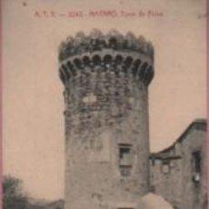 Postales: BUENA POSTAL DE MATARO - MARESME - A.T.V. - Nº 2243 - TORRA DE LA PAU - CIRCULADA 1912 . Lote 119330947