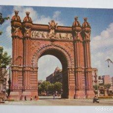 Postales: POSTAL BARCELONA - ARCO DE TRIUNFO - AÑOS 50 ? - NIKOLAUS REUSS 5014 - SIN CIRCULAR. Lote 119336891