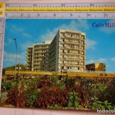 Postales: POSTAL DE MALLORCA. AÑO 1974. CALA MILLOR, HOTEL OSIRIS. 1796. Lote 119489003