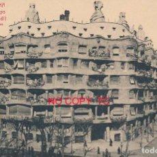 Postales: BARCELONA ROISIN CASA MILÁ Y CAMPS GAUDÍ. Lote 119921747
