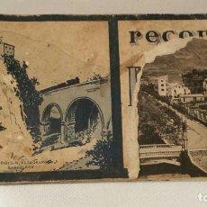 Postales: ANTIGUO LIBRO DE 10 POSTALES RECORD DE RIBAS. Lote 120100291