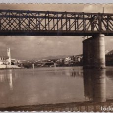 Postales: TARRAGONA - TORTOSA - PUENTES SOBRE EL RIO EBRO. Lote 120138859