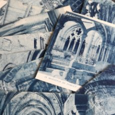 Postales: LOTE 14 POSTALES DEL MONASTERIO DE POBLET - MONESTIR. Lote 120438534
