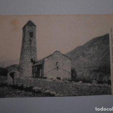 Postales: ASOCIACION PROTECTORA DE LA ENSEÑANZA CATALANA- 18 RIBERA DEL EBRE - COLL DE NARGO, ESGLESIA. Lote 120521711
