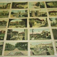 Postales: COLECCIÓN 20 POSTALES EXPOSICION INTERNACIONAL DE BARCELONA 1929, COMPAÑIA NACIONAL DE HILATURAS. Lote 120709747