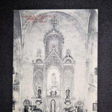 Postales: COLEGIO DE M M ESCOLAPIAS BARCELONA 12 ALTAR MAYOR ED ANGEL TOLDRA VIAZO. Lote 121104259