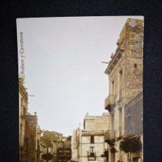 Postales: CATALUÑA S FELIU DE CODINES Nº9 PLAZA DEL DR ROBERT Y CARRETERA NO INSCRITA NO CIRCULADA AÑOS 30. Lote 121119519