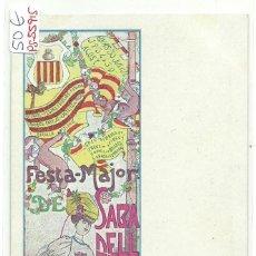 Postales: (PS-55915)POSTAL DE SABADELL-FESTA MAJOR DE SABADELL 1906. Lote 121166275