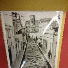 Postales: CORPUS DE ARGENTONA. ALBUM FOTOS TAMAÑO POSTAL. ORIGINALES AÑOS 50S. FOTOGRAFO GÜELL. ARGENTONA. Lote 121276807