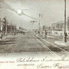 Postales: BARCELONA Nº 103 PASEO MARQUES DEL DUERO CIRC. 1902. Lote 121421791