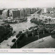 Postales: BARCELONA-PLAZA TETUÁN- ROISIN . Lote 121489379