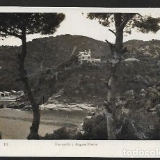 Postales: POSTAL * BAGUR, PANORÁMICA DESDE FORNELLS I AIGUA BLAVA * JUANOLA 18 - 1944. Lote 121720843