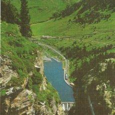 Postales: SANTUARI DE NURIA (GIRONA) VISTA DEL LAGO DESDE SAN GIL - EDICIONES SICILIA - S/C. Lote 121739971