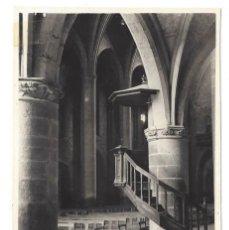 Postales: CASTELLÓ D'AMPURIES- INTERIOR IGLESIA. EDICIONES CUYÁS. GERONA- SIN CIRCULAR . Lote 121744811